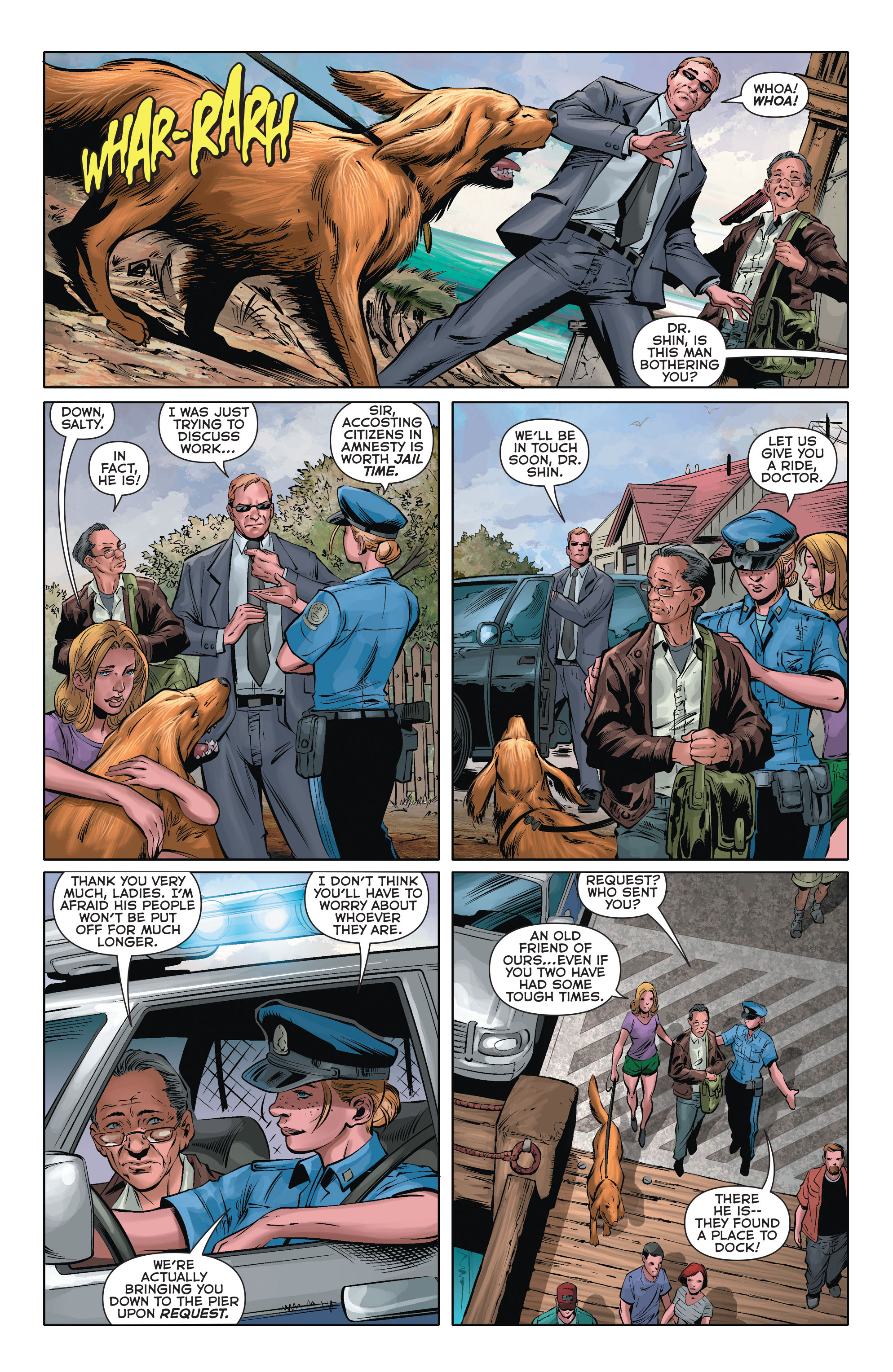 Read online Aquaman (2011) comic -  Issue #35 - 4