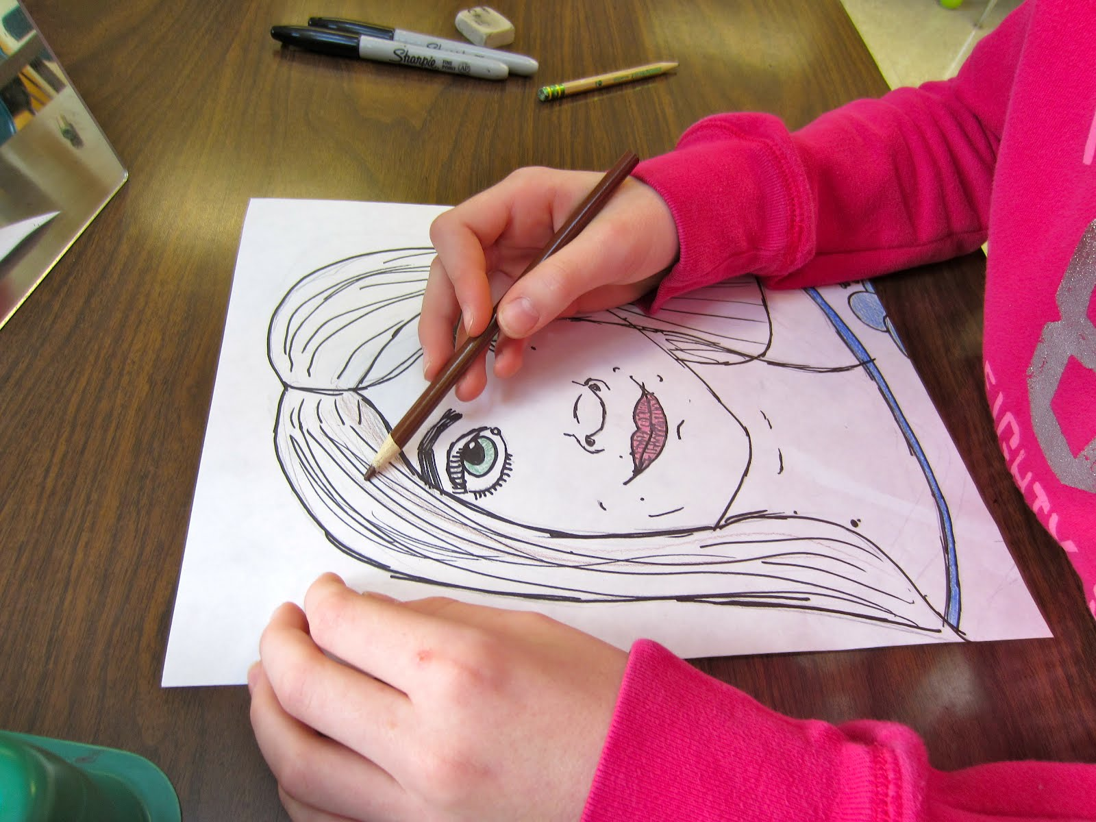 5th Grade Portraits Updated