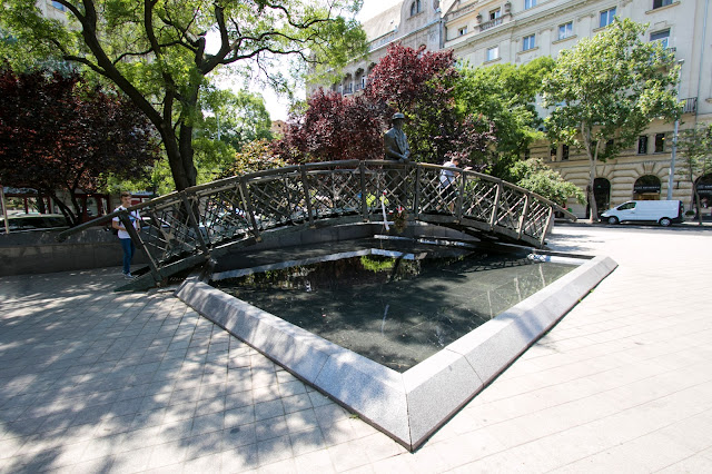 Statua di Imre Nagi-Budapest