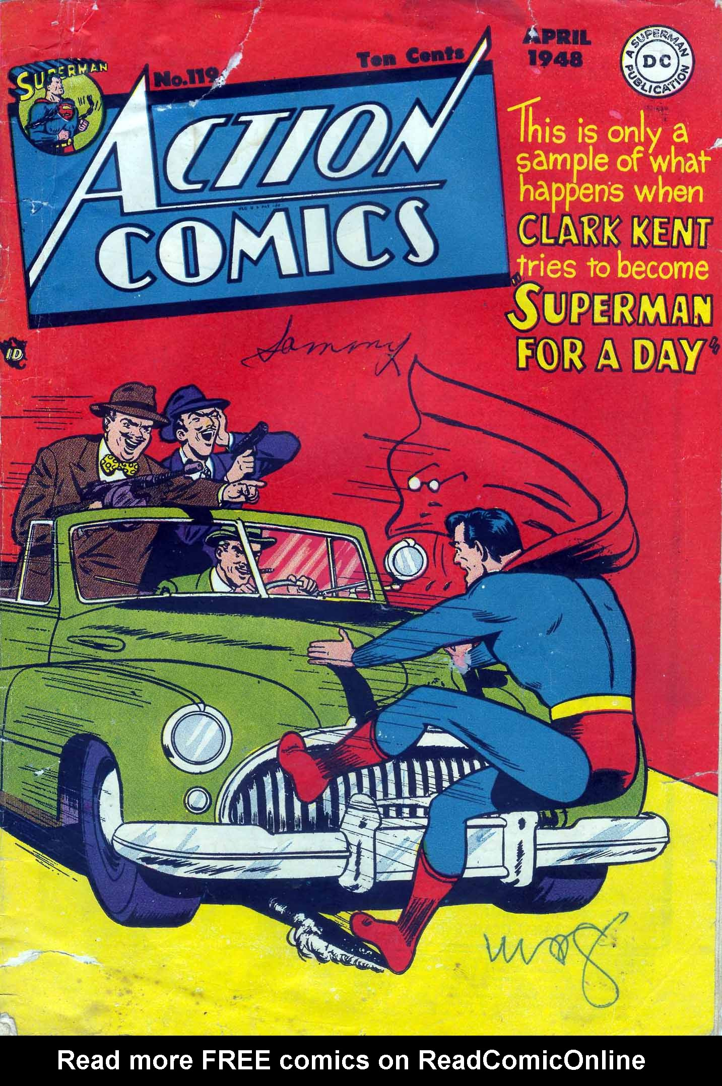 Read online Action Comics (1938) comic -  Issue #119 - 1