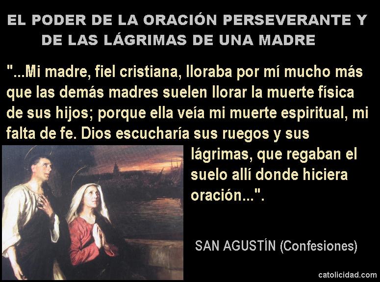 San Agustín y Santa Mónica