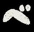 カタカナのペンキ文字「ベ」