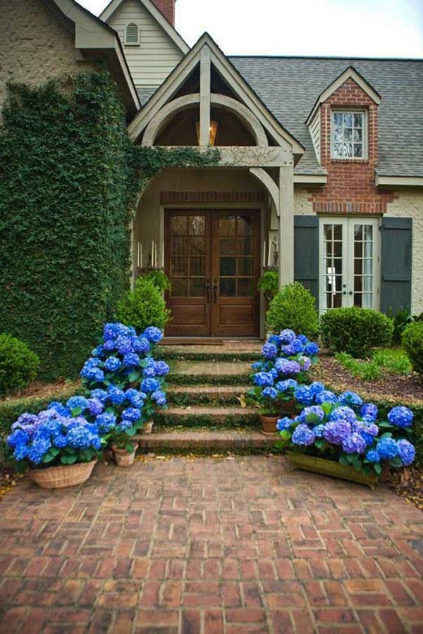 Hogares frescos 30 dise os inspiradores para la entrada for Jardin entrada casa