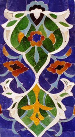 Ouzbékistan, Samarcande, Registan, Céramique, © L. Gigout, 2012