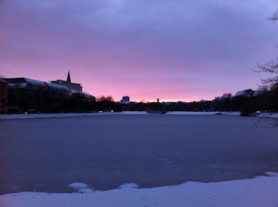 Kiel im Winter - Blick auf den Kleinen Kiel