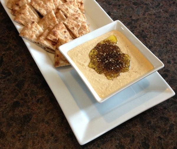 Hummus Made With Greek Yogurt Recipe