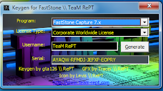 FastStone Capture Screen Recorder Serial Key Generator
