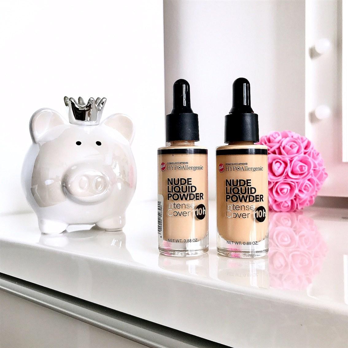 podkład Bell Nude Liquid Powder