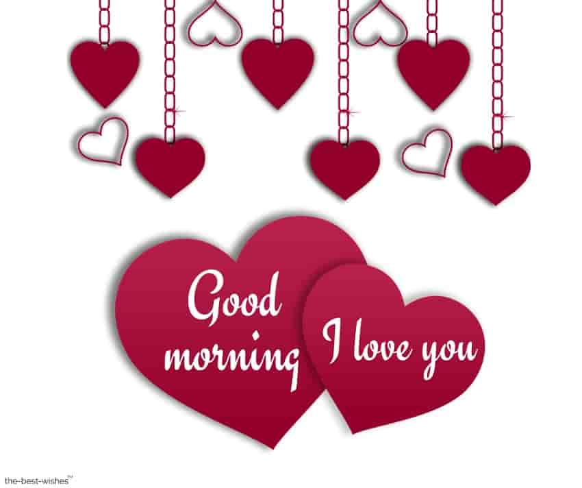good morning with i love you