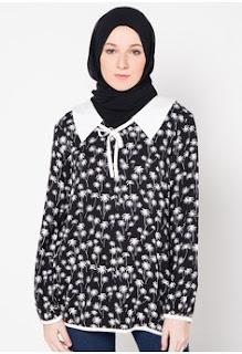 Baju Kantor Batik Muslim Remaja Terbaru