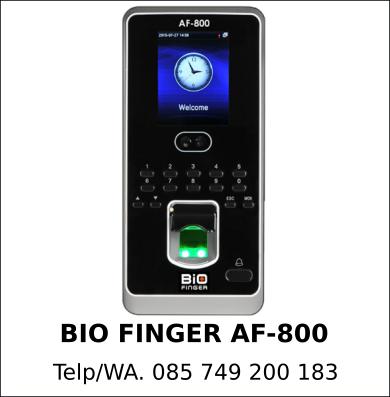 Harga Grosir Bio Finger AF-800 Murah Indonesia