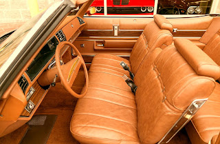 1975 Buick LeSabre Convertible Seat Front