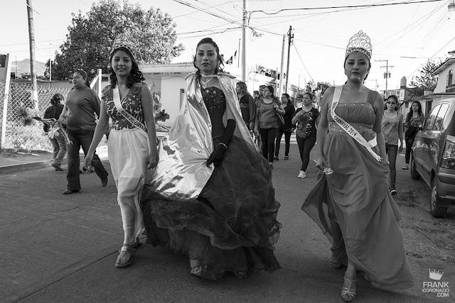 reinas del carnaval en oaxaca