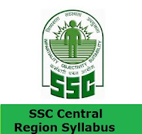 SSC Central Region Syllabus