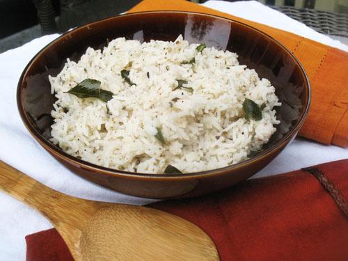 cracked black pepper rice