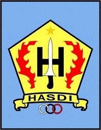 Logo atau lambang HASDI (Himpunan Anggota Silat Dasar Indonesia)