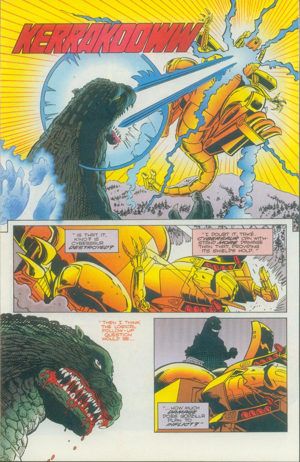 Godzilla (1995) Issue #2 #3 - English 8