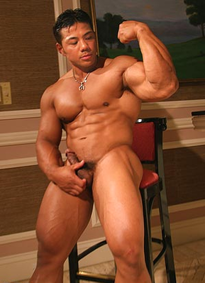 muscle hunk gay amputee