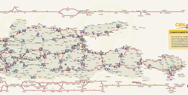 peta mudik jawa timur-bali.santri dan alam, perjalanan ke rinjani