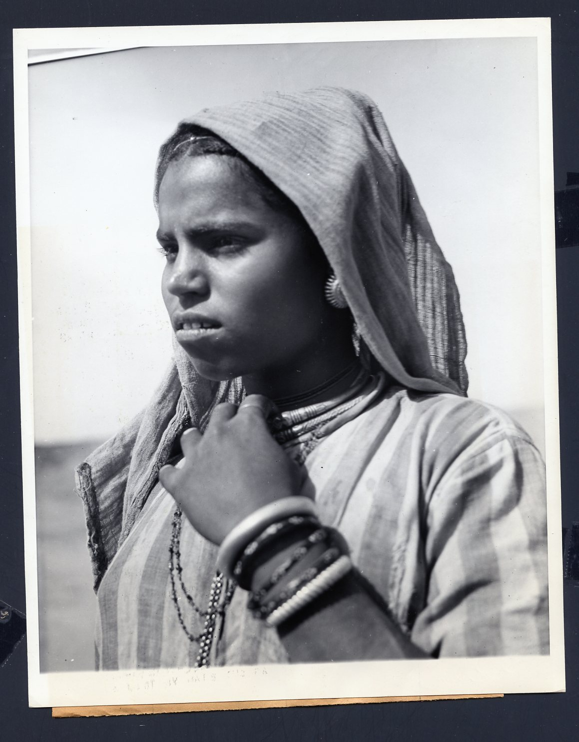 Portrait of an Untouchable Woman of India  1946  Old