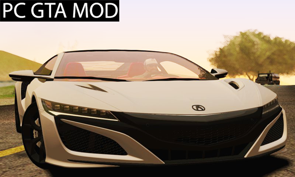 Free Download 2016 Acura NSX Mod for GTA San Andreas