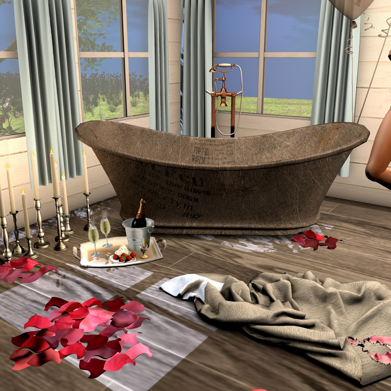 Perv My Style Second Life Fashion Blog Love Shack