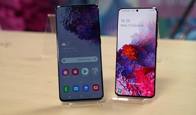 شاشة 120 هرتز و 12 جيجابايت من ذاكرة الوصول العشوائي لجهاز Galaxy S20 و S20 +