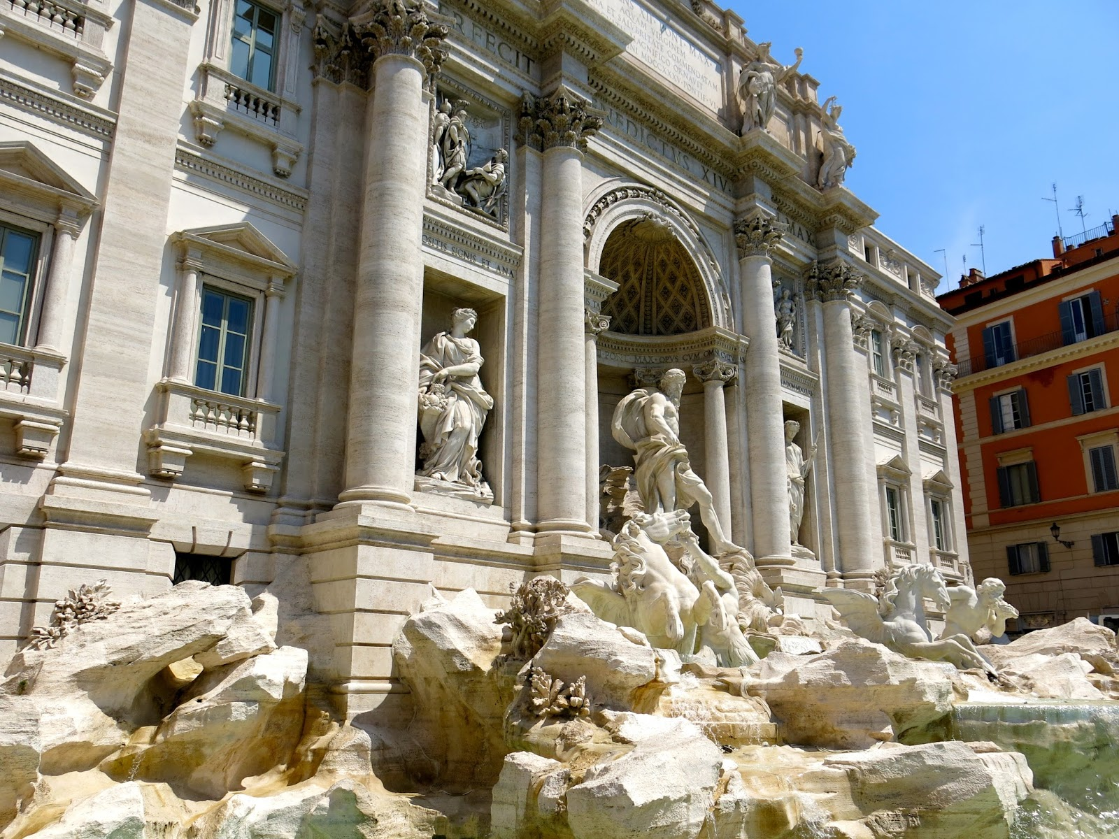 Cassie stephens art teacher travels rome it was so incredible to have trevi fountain just down the block from our hotel what an incredible sight to see right away i had previously been to italy sciox Gallery