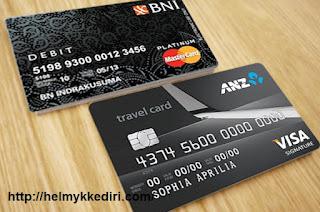 Perbedaan kartu ATM Kredit dan Debit