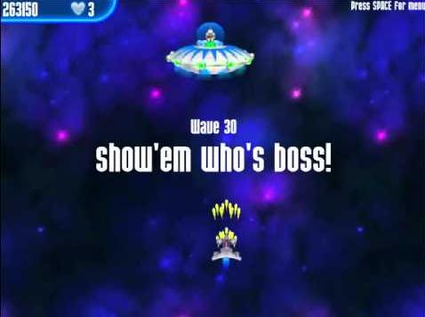 تحميل لعبة الفراخ للكمبيوتر من ميديا فاير download 3 chicken invaders