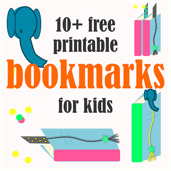 10+ Free printable bookmarks for kids - ausdruckbare Lesezeichen ...