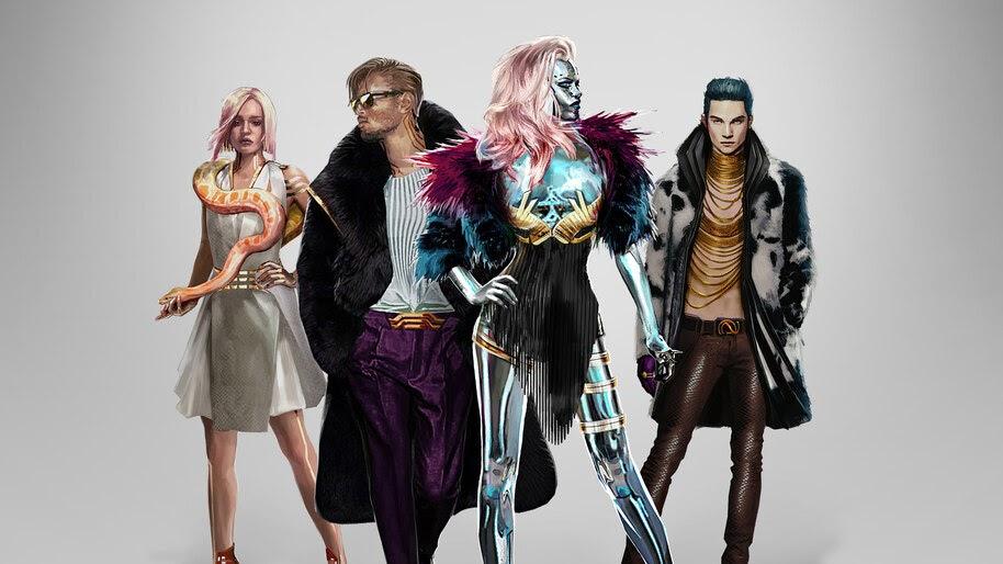 Cyberpunk 2077, Neokitsch, Style, Concept Art, 4K, #3.2235