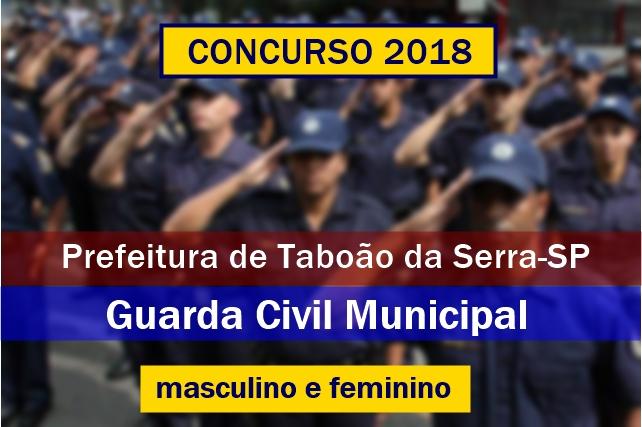 Concurso GCM de Taboão da Serra-SP