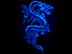 dragon dark theme cool dragons backgrounds background fire symbol chinese desktop snake neon hd 3d lizard wings wallpapers pc azul