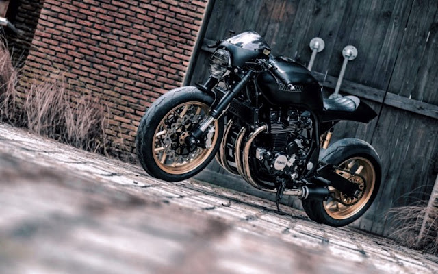 Yamaha XJR1300 by K-Speed Hell Kustom