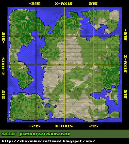 seed map minecraft