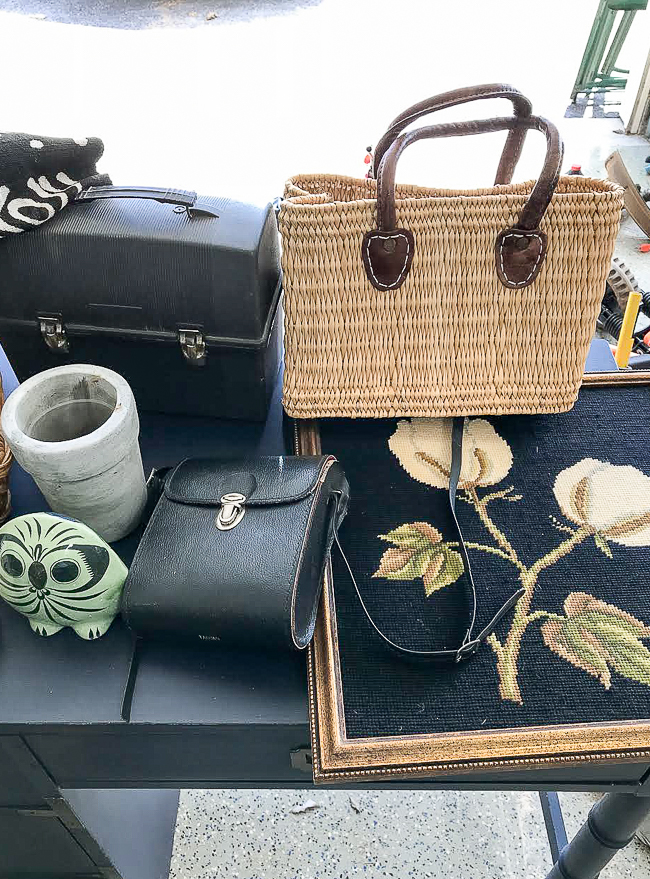 flea market and thrift store finds