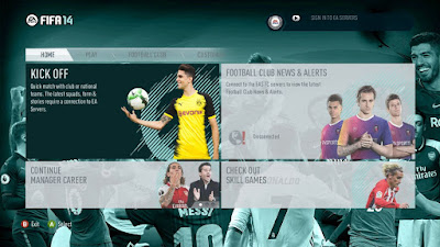 FIFA 14 Community Theme v1.0 by DerArzt26 & HarryBullZak