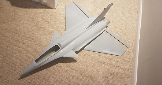 New baby! Dassault Rafale for PSS