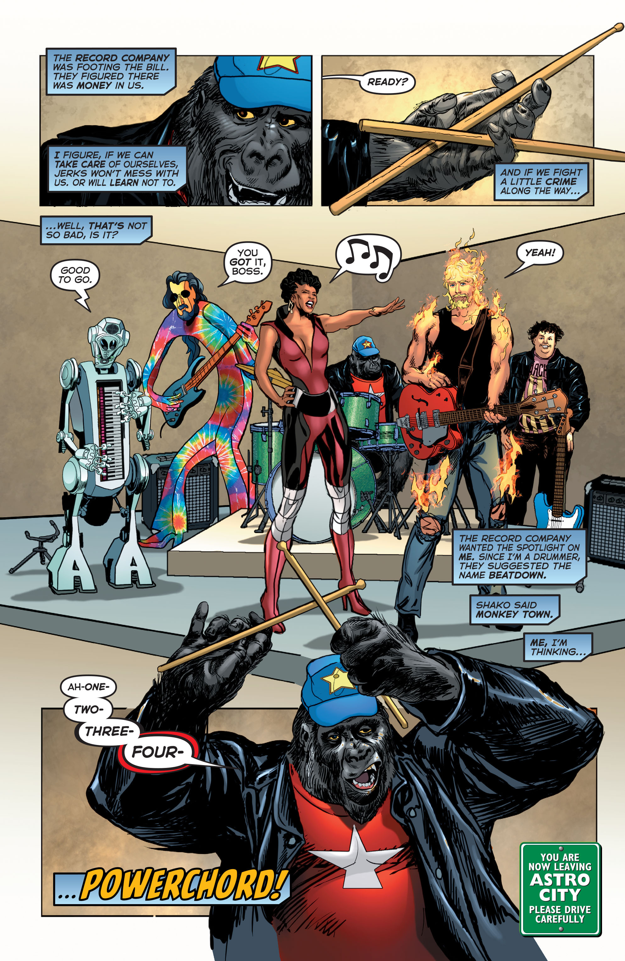 Read online Astro City comic -  Issue #24 - 25