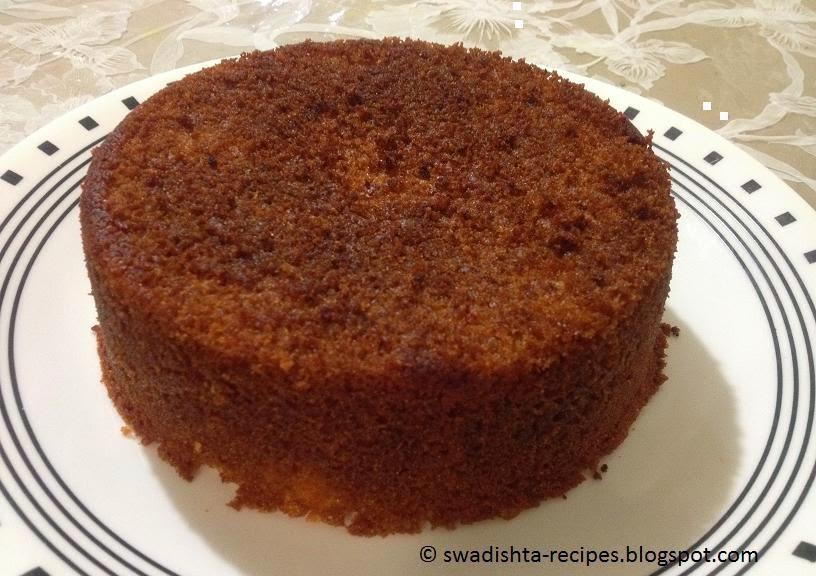 Butterscotch Cake Recipe In Pressure Cooker: Swadishta Recipes : Rava Cake In Pressure Cooker