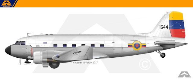 venezuela C-47 1972 escarapela nacional ceo dir 119 cucarda insignia