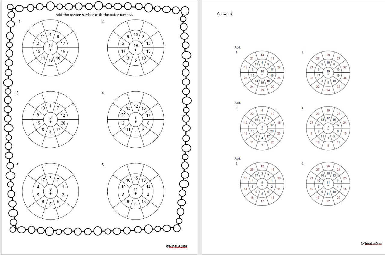 Greatschools Math Worksheet