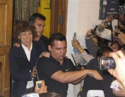 ミック・ジャガーがペルー旅行