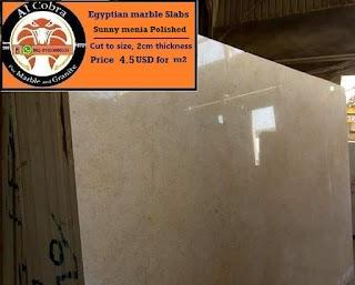 Egyptian granite slabs