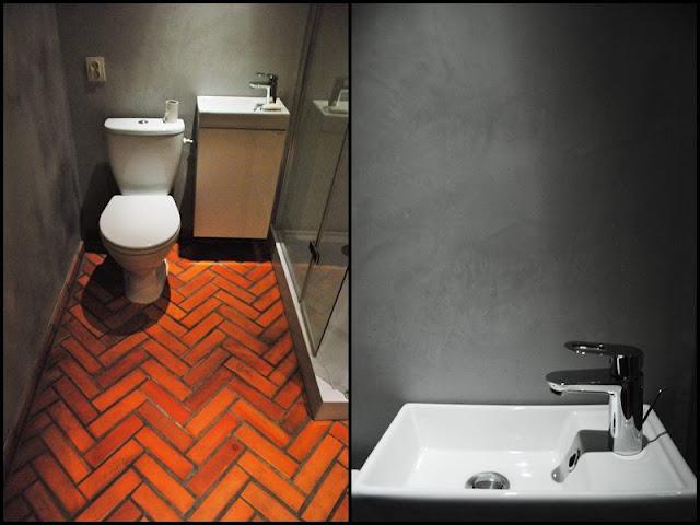 Mieszkanie z ceglaną łazienką