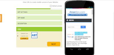 Cara Menjadikan Blog Sebagai Aplikasi Android Keren Dengan Mudah by Anas Blogging Tips