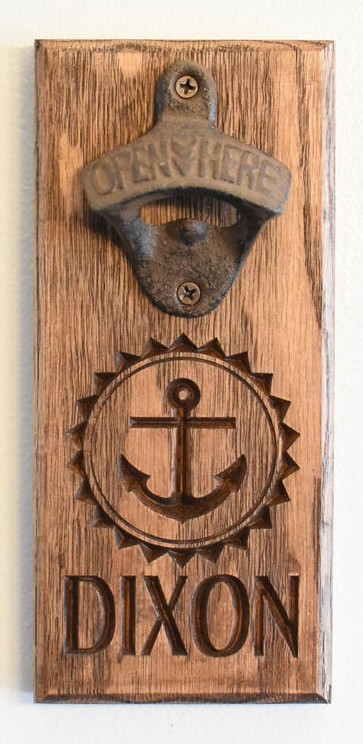 Anchor Bottle Opener - Dixon Style