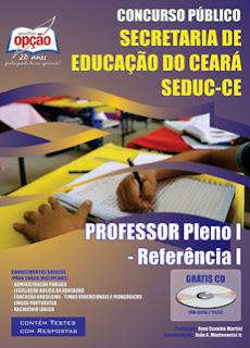 Apostila SEDUC-CE - Professor Pleno I (Referência I)