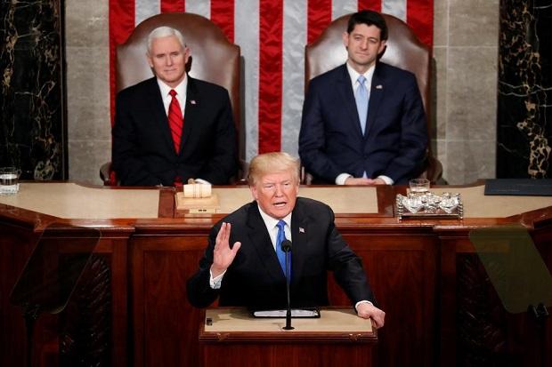 Trump Nyatakan 128 Negara Musuh AS, Termasuk Indonesia